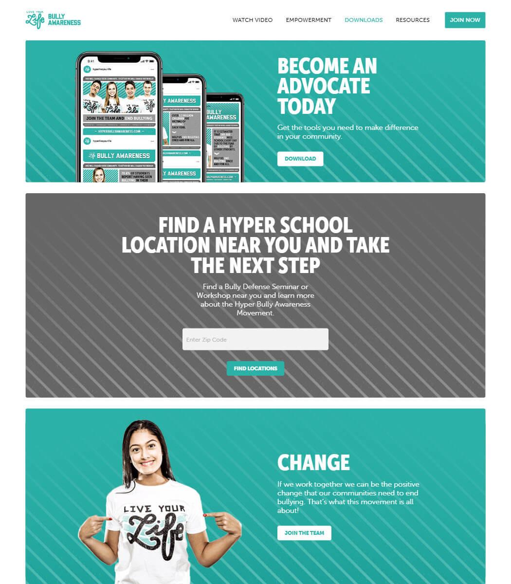 Hyper Bully Awareness Website