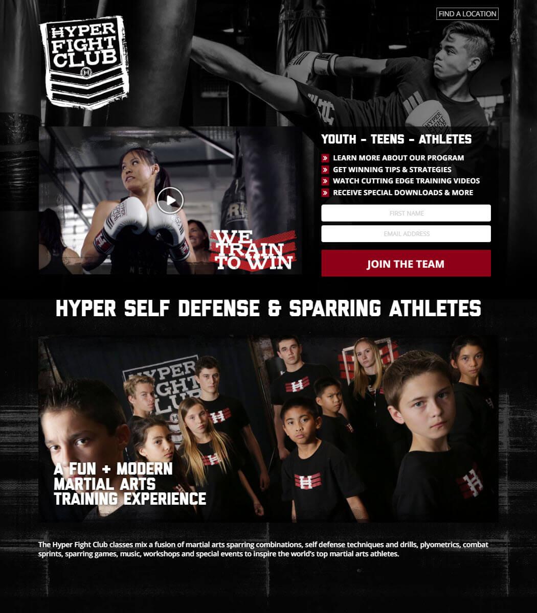 Join Hyper Fight Club Website
