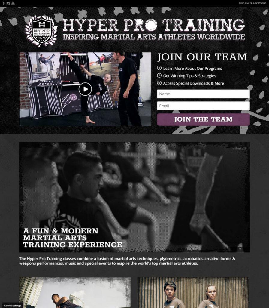 Join Hyper Pro Training Website