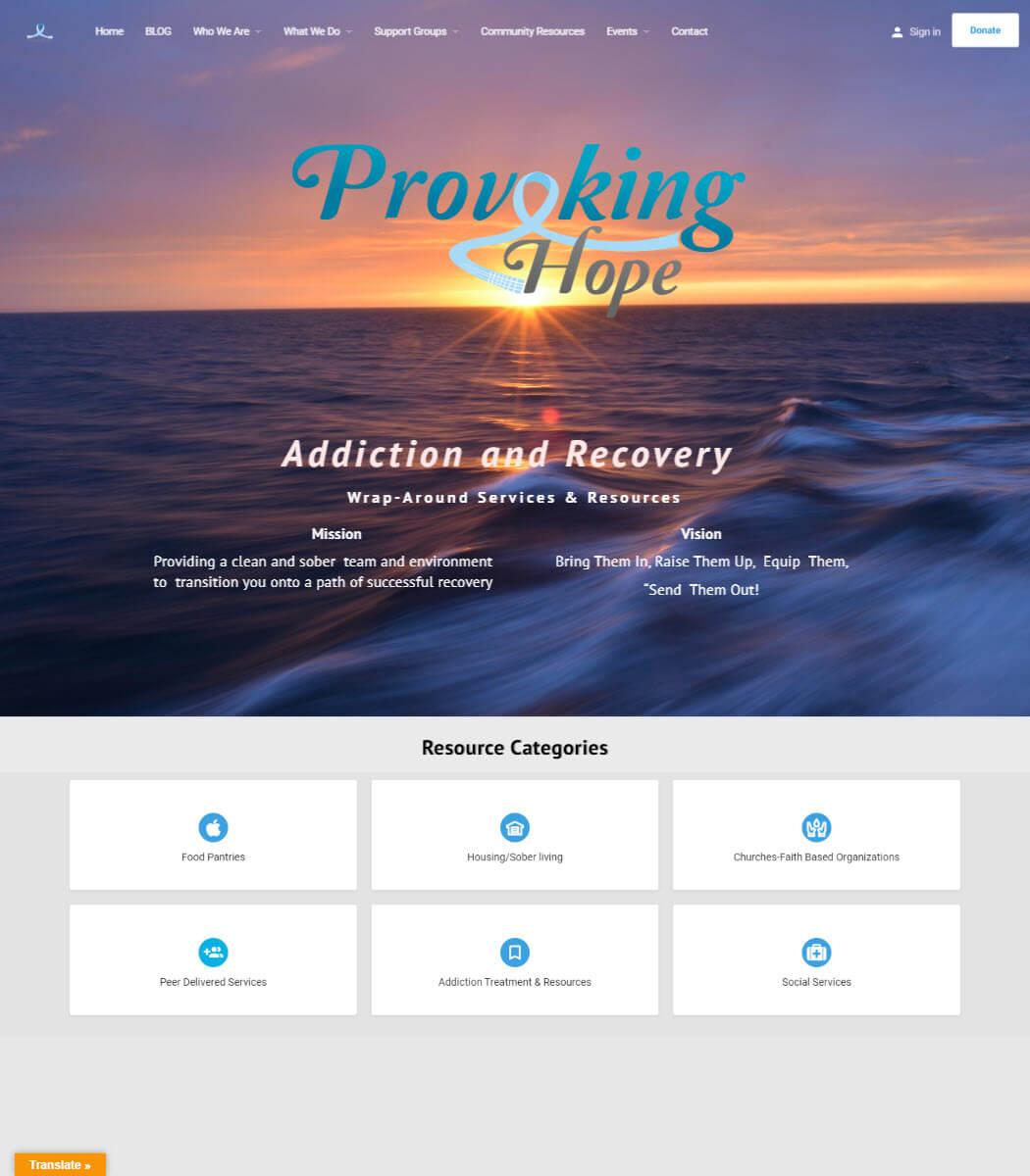 Provoking Hope Website