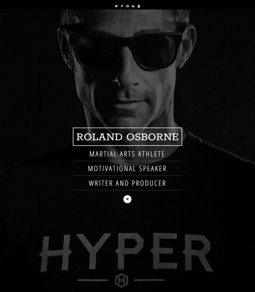 Roland Osborne Website